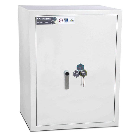 Image of Burton Eurovault Aver Eurograde 1 Cash & Jewellery Key Locking Safe
