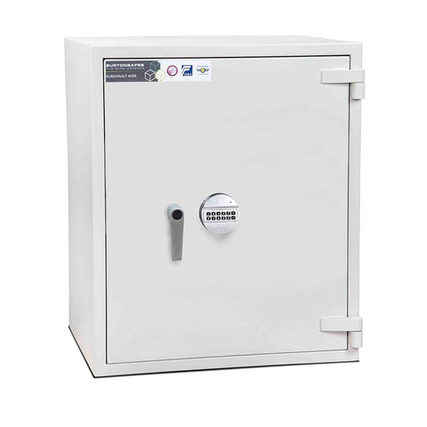 Image of Electronic Burton Grade 2 Eurovault Aver Fireproof Safe In Uk 2020