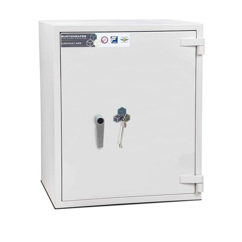 Image of Burton Eurovault Aver Electronic Fireproof Single Key 2 Shelves Safe