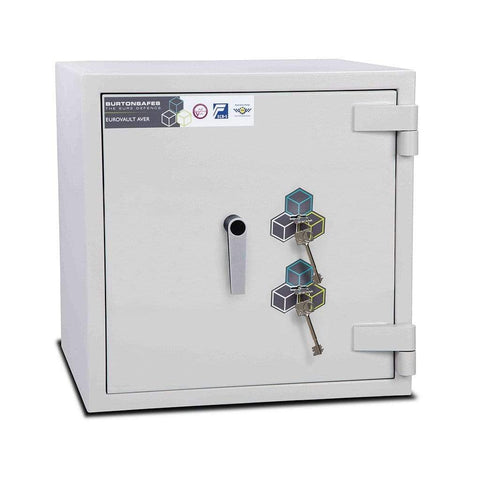 Image of Burton Safes Security Safe Burton Eurovault Aver Electronic Fireproof Safe 30mins Grade 4 Size 1KK