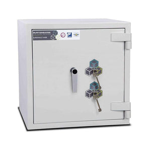 Burton Safes Security Safe Burton Eurovault Aver Electronic Fireproof Safe 30mins Grade 4 Size 1KK
