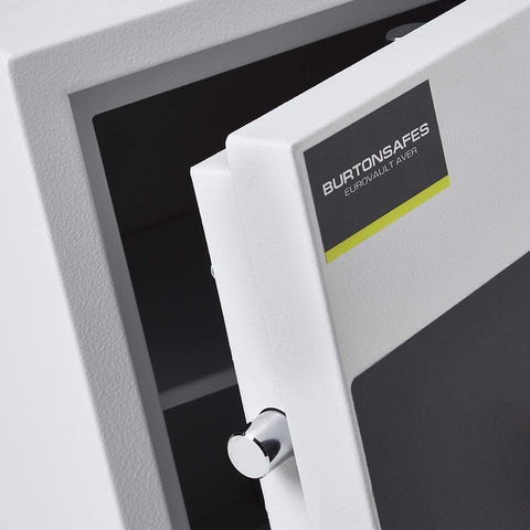 Image of Burton Eurovault Aver Eurograde 0 Electronic Pin Code White Safe 2020