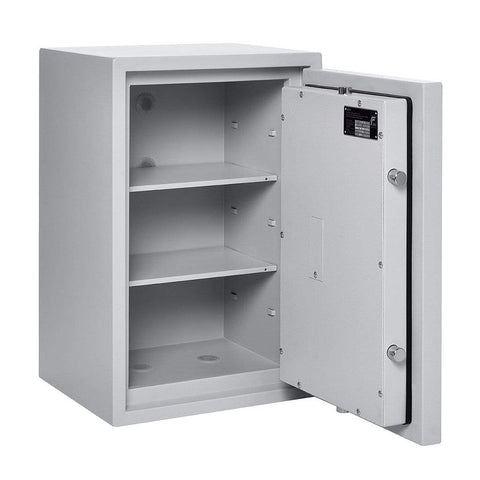 Image of Burton Eurovault Aver Eurograde 0 Electronic White Locking Safe In Uk