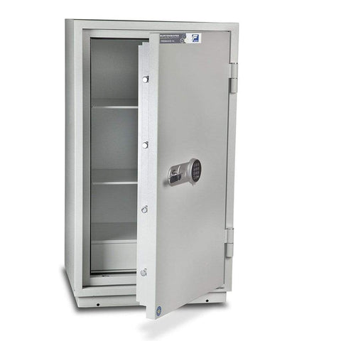 Burton Firebrand Fireproof Cash & Jewellery 2 Shelve Pin Code Safe