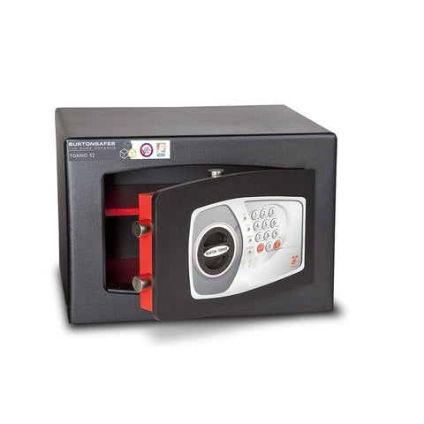 Image of Burton Torino S2 Electronic Cash & Jewellery Pin Code Black Safe 2020