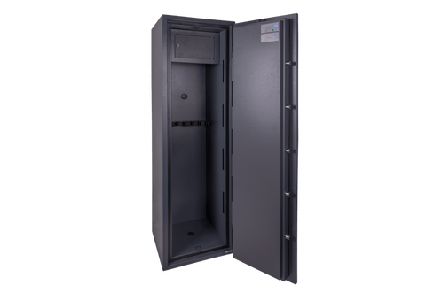 Image of burtonsafes security safe Burton Warden LFS 6 Gun Cabinet E