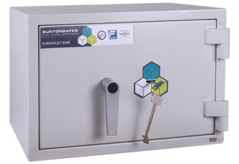 Image of burtonsafes security safe Eurovault Aver LFS G1 Size 1 K