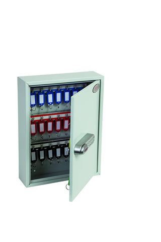 Image of Phoenix Commercial 42 Hook Key Cabinet With Electronic Lock 2020