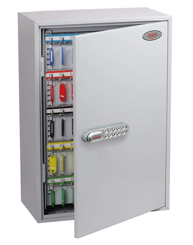 Image of 300 Hook Key Cabinet with Electronic Lock & Push Shut Latch In Uk 2020