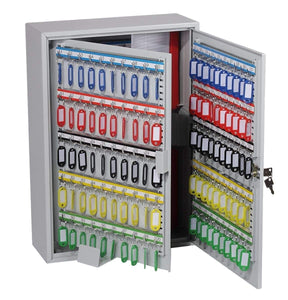 300 Hook Key Cabinet with Electronic Lock & Push Shut Latch In Uk 2020