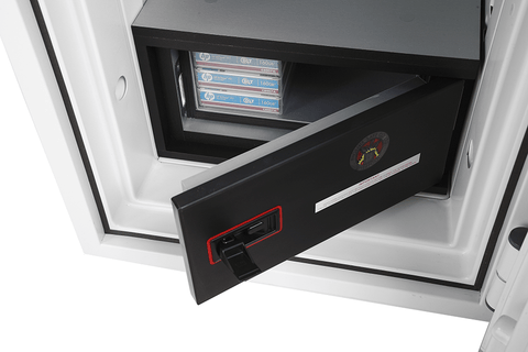 Phoenix Datacombi Single Shelve Data Safe with Key Lock In Uk 2020