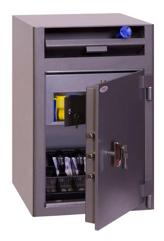 Image of Phoenix Cash Deposit High Quality Security Safe With Key Lock In Uk