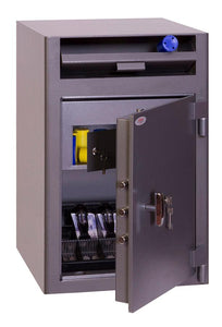 Phoenix Cash Deposit High Quality Security Safe With Key Lock In Uk