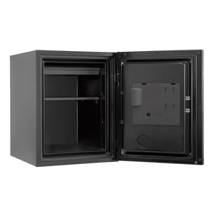 Phoenix Luxury Fire Safe with Yellow Door Panel and Electronic Lock