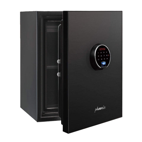 Image of Phoenix Plus Luxury Safe with Black Door Panel and Electronic Lock