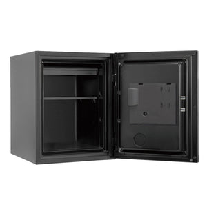 Phoenix Plus Luxury Safe with Black Door Panel and Electronic Lock