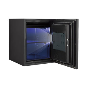 Phoenix Luxury Fire Safe with Black Door Panel and Electronic Lock