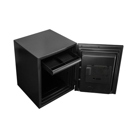 Image of Phoenix Luxury Fire Safe with Black Door Panel and Electronic Lock