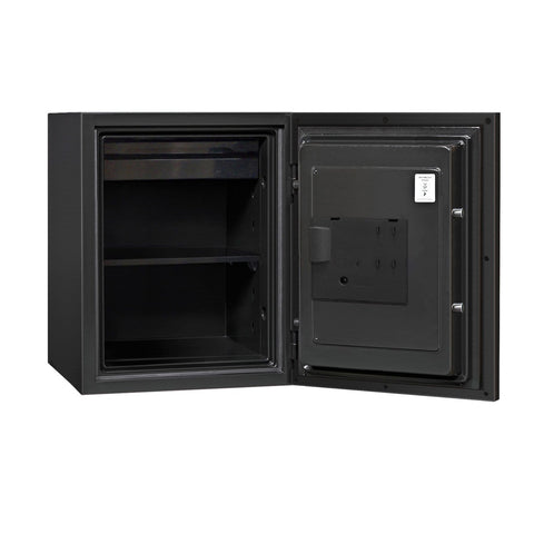 Phoenix Plus Luxury Fire Safe with Gold Door Panel and Electronic Lock