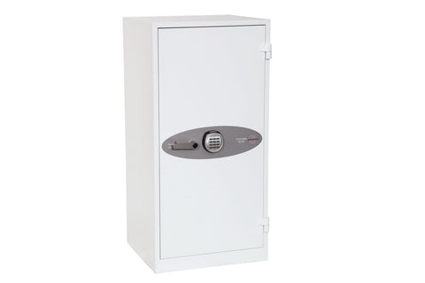 Image of Phoenix Fire Ranger White Electronic Fireproof Cupboard With Pin Code