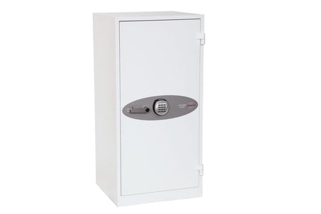 Phoenix Fire Ranger White Electronic Fireproof Cupboard With Pin Code