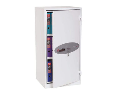 Phoenix High Security Chief Fireproof Cupboard, Wight With Key Lock