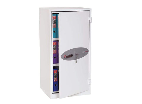 Image of Phoenix High Security Chief Fireproof Cupboard, Wight With Key Lock