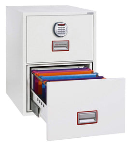 World Class Vertical 2 Drawer Filing Cabinet with Electronic Lock 2020