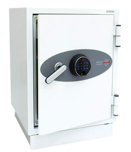 Phoenix Fire Fighter Data Safe Cabinet with Fingerprint & Pin Locker