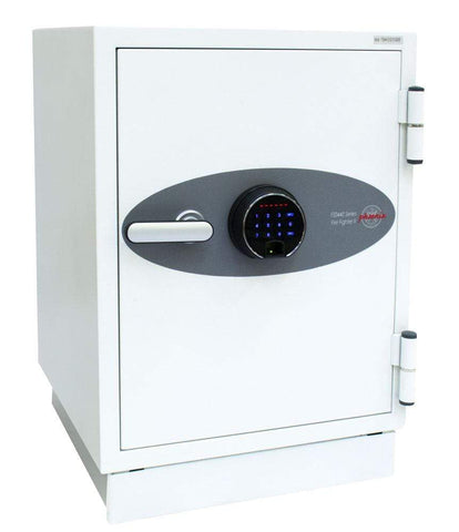 Image of Phoenix Fire Fighter Data Safe Cabinet with Fingerprint & Pin Locker
