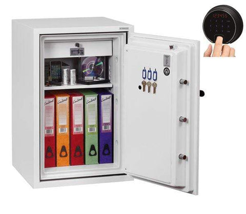 Image of Phoenix Fire Fighter Safe with Fingerprint & Pin Code Locker 2020