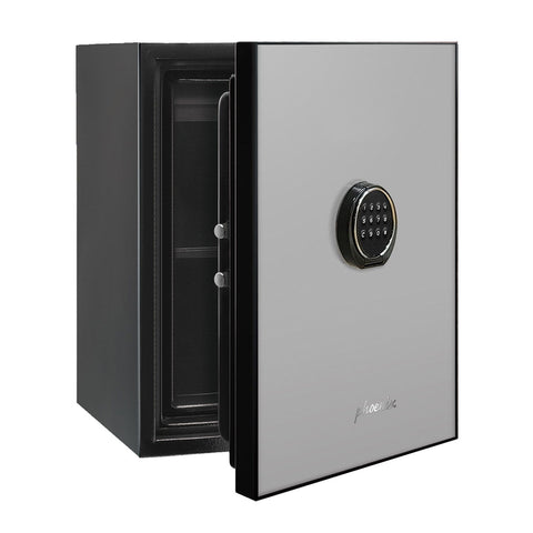 Image of Phoenix Luxury Safe with Light Grey Door Panel and Electronic Lock