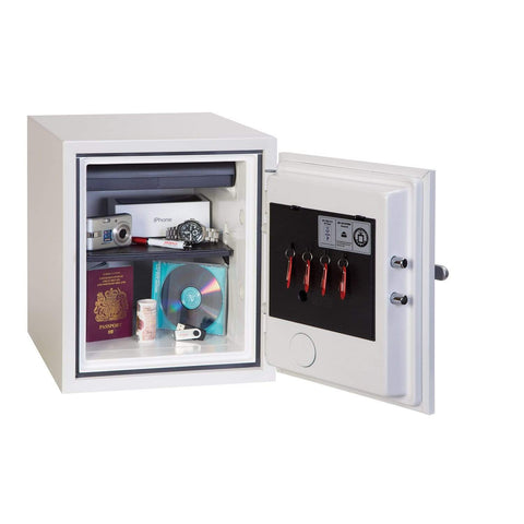 Phoenix Titan White Electronic Fireproof Safe With Pin Code Lock