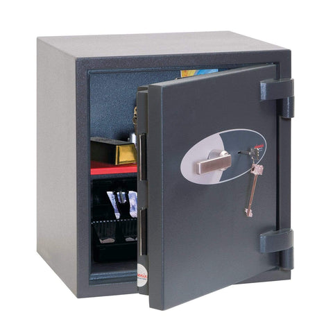 Phoenix Elar High Security Safe For Home & Business Data with Key Lock