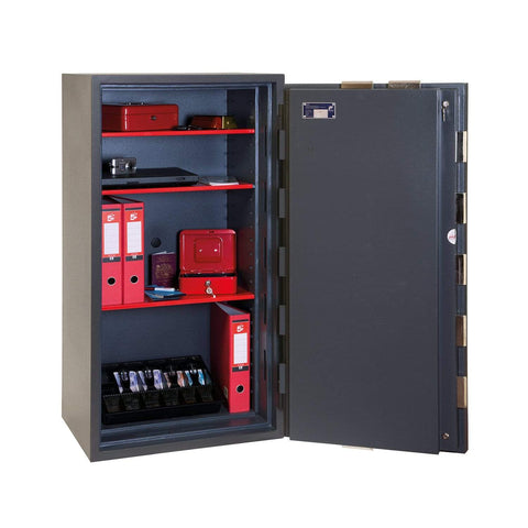 Phoenix Elara Euro Grade 3 Shelve Safe with Key Lock In UK 2020