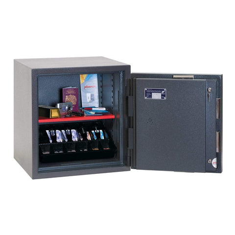 Phoenix High Security Safe Phoenix Mercury HS2051K Size 1 High Security Euro Grade 2 Safe with Key Lock