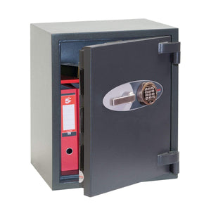 Phoenix Best Mercury Electronic Fireproof High Security Safe, Grey