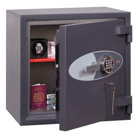 Image of Phoenix Planet High Security Safe for Hotel with Electronic & Key Lock