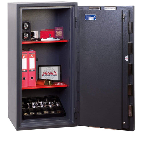 Image of Best Phoenix Planet High Security Safe with 2 Key Locks Online