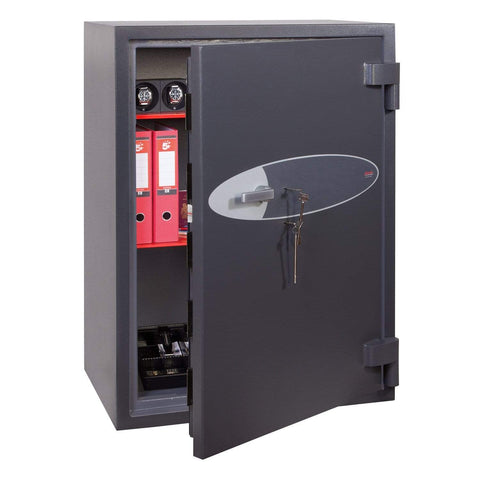 Phoenix Planet High Security Safe For Cash & Data with 2 Key Locks