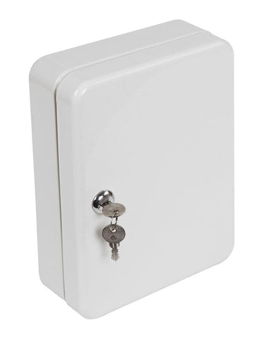 Image of Phoenix 48 Key Hook Grey Box With Key Lock For Home and Office 2020