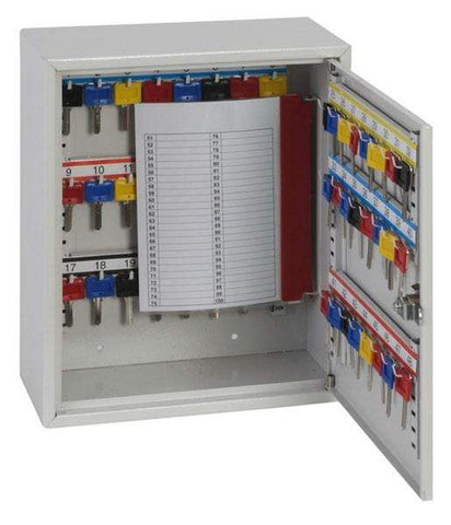 Image of Phoenix High Quality Deep Key Cabinet 50 Hook With Pin Key Lock
