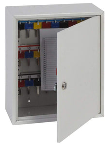 Phoenix Deep Plus & Padlock Key Cabinet 24 Hook with Key Lock