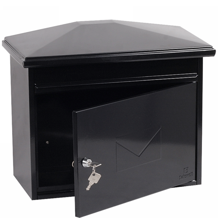 Phoenix Libro High Quality Black Letter Box With Key Lock In Uk 2020