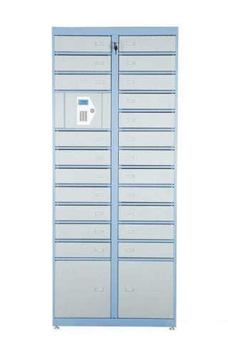 Image of Phoenix Storage Master Unit with 24 Lockers & Electronic Control Panel