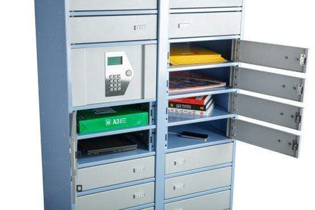 Phoenix Storage Master Unit with 24 Lockers & Electronic Control Panel