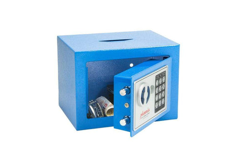 Phoenix Compact Blue Deposit Slot Electronic Security Safe In Uk 2020