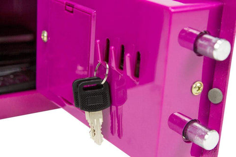 Image of Phoenix Compact Pink Deposit Slot Electronic Security Safe 2020