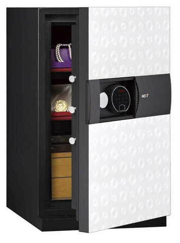 Image of Phoenix Best Luxury Safe White For Deposit Cash with Fingerprint Lock