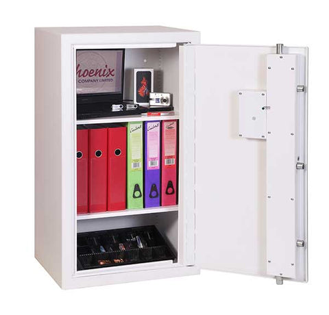Image of Phoenix Best Store Security Safe For Data with Fingerprint Lock In UK